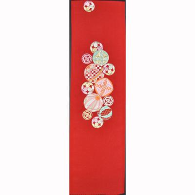 画像1: 【刺繍半襟】【silelly】 ポリエステル お正月向け刺繍半衿 (1)