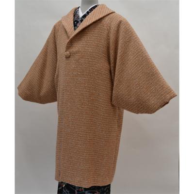 画像1: 【和装コート】 ウールへちま衿コート  (1)