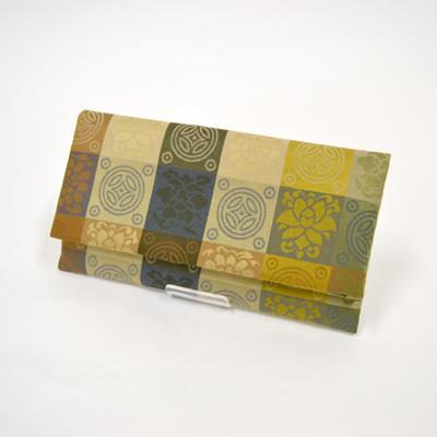 画像1: 【念珠袋】  正絹遠州緞子 念珠入 (1)
