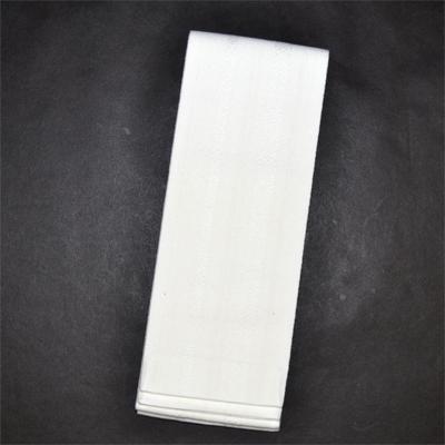 画像1: [角帯] 綿献上角帯 白/白 (1)