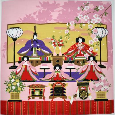画像1: 【小風呂敷】【彩時記】 雛祭り ? (1)