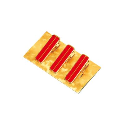 画像1: ハンディクリップ大(真鍮)3本組※袋入り (1)
