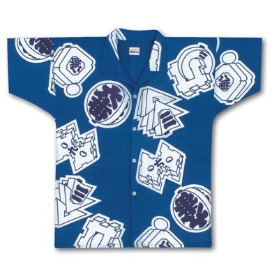 画像1: 【江戸一】 シャツ手拭  まとい (1)