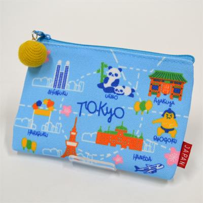 画像1: 【新商品】[和雑貨]ご当地ポーチ 東京MAP (1)