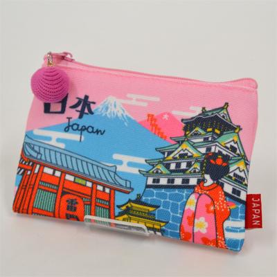 画像1: 【新商品】[和雑貨]日本漫遊ポーチ 日本 (1)
