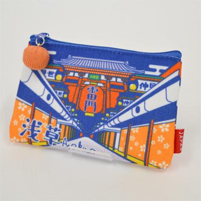 画像1: 【新商品】[和雑貨]日本漫遊ポーチ 浅草 (1)
