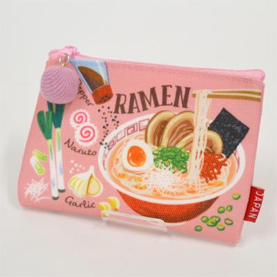 画像1: 【新商品】[和雑貨]日本漫遊ポーチ ラーメン (1)