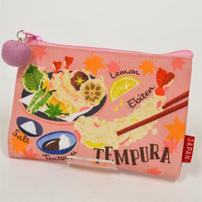 画像1: 【新商品】[和雑貨]日本漫遊ポーチ 天ぷら (1)
