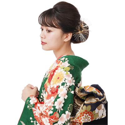 画像1: 【髪飾り】【Charmant】成人式/花かんざし【単品】 (1)