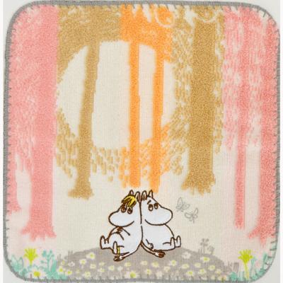 画像1: 【ムーミン】 ミニタオル ムーミン あたたかな森 (1)