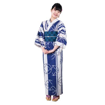 画像1: 【広告掲載品】婦人浴衣 #001 (1)
