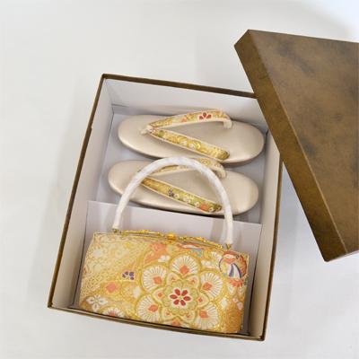 画像1: 【希少限定生産品】【彩小径】 草履バックセット(M、L) (1)