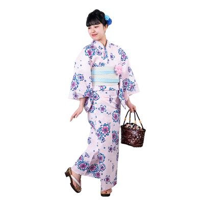 画像1: 【広告掲載品】婦人浴衣 #002 (1)