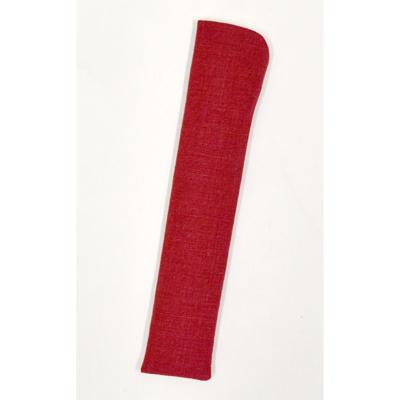 画像1: 【扇子袋】 本麻せんす袋 【婦人用・赤】 (1)