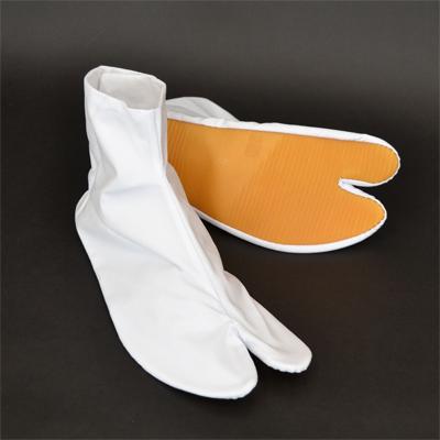 画像1: 【祭足袋】地下足袋(祭足袋)ゴム底 (白)四枚こはぜ21cm〜30cm (1)