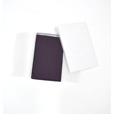 画像1: 【ふくさ】 シルック台付ふくさ (紫) (1)