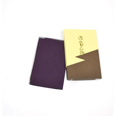 画像1: 【ふくさ】 正絹東雲台付ふくさ (紫) (1)