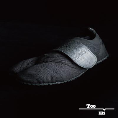 画像1: 【ランニング足袋 - Toe-Bi - 】Black (22.0〜30.0cm) (1)