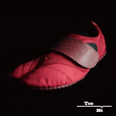 画像1: 【ランニング足袋 - Toe-Bi - 】Red (22.0〜30.0cm) (1)