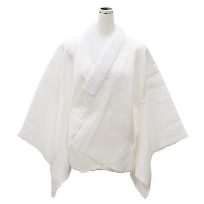 画像1: 【婦人肌着】【夏用襦袢】 婦人用平織半襦袢 (1)