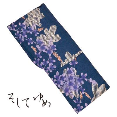 画像1: [ブランド浴衣:そしてゆめ] 婦人浴衣  日本製 (注染)[20%OFF] (1)