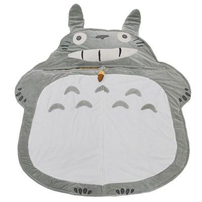 画像1: 【となりのトトロ】【シュラフ】お子様用寝袋 夢心地(枕付き) (1)
