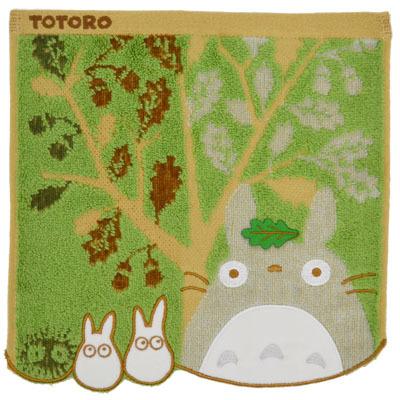 画像1: 【となりのトトロ】 ミニタオル 「どんぐりの木」  (1)