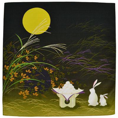 画像1: 【小風呂敷】【彩時記】 「お月見」 (1)