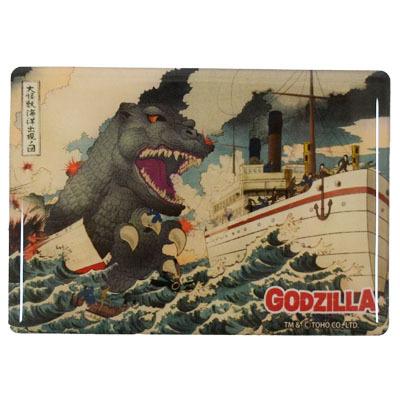 画像1: [マグネット]ゴジラジャンボマグネット 「大怪獣海洋出現ノ図」【GODZILLA/ゴジラシリーズ】 (1)