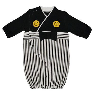 画像1: 【BABY】 コンビドレス袴風タイプ(男の子)  コスプレ 衣裳 かわいい 贈り物 映え 孫 (1)