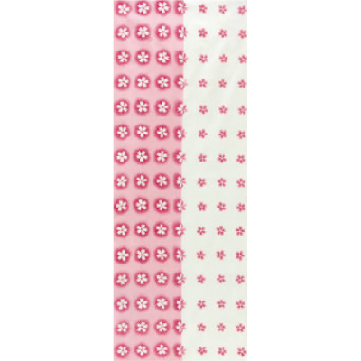 画像1: [和布華:注染手拭い]桜小紋 (1)