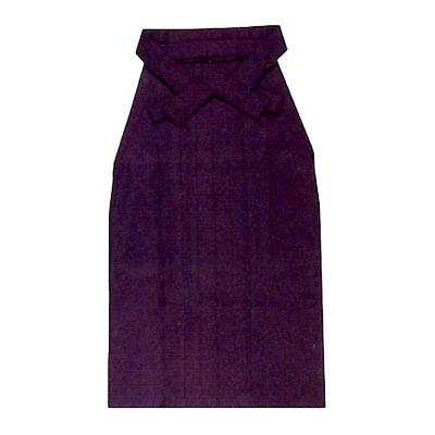 画像1: 【卒業衣装】 「女性用無地袴(紫)」 卒業式 小学生 着物 大学生 先生 卒園 (1)