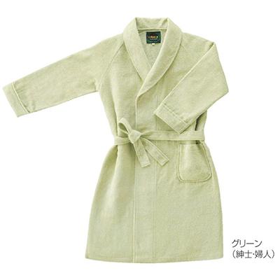 画像1: 【hotel use】【ホテル仕様】 「オリジナルバスローブ(男女各4色展開/サイズML)」  バスタオル 紳士 婦人 ガウン M L 良質 ホテル品質 (1)