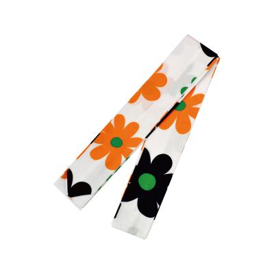 画像1: 【腰紐】「婦人用腰紐 (フラワーA)」綿100% 柄 おしゃれ カワイイ レディース 着付け小物 日本製 (1)