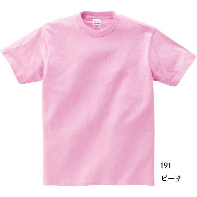 画像1: 【定番無地Tシャツ】【Printstar】「5.6オンスヘビーウェイトTシャツ(ピーチ)選べる単品・5枚セット・10枚セット」  キングオブTシャツ 無地 型くずれしにくい 安心の品質 豊富な色数 名入れ出来ます お揃い ユニホーム  (1)